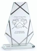 Trofeo de Cristal Etla personalizable