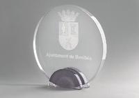 Trofeo de Cristal modelo Arteris Plata