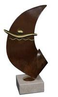 Trofeo de Latón forma Curva de Natacion Oriana