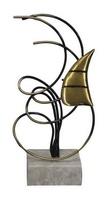 Trofeo de Laton para Vela modelo Rubí