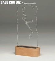 Trofeo de Metacrilato con Luz Monserga