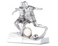 Trofeo de Resina con jugadores de futbol