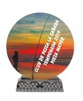 Trofeo de cristal para personalizar Lanza