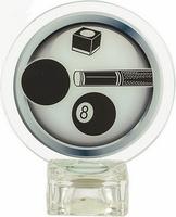 Trofeo de cristal. Modelo martin
