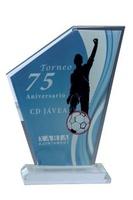 Trofeo de cristal. Modelo ocotepec