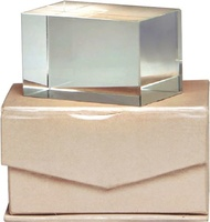 Trofeo de cristal. Modelo teita