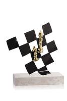 Trofeo de laton para ajedrez
