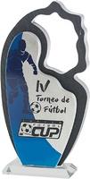 Trofeo de metacrilato. Modelo telixtlahuaca