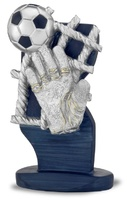 Trofeo de resina para portero de futbol andersy
