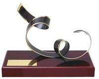 Trofeo diseño enrollado