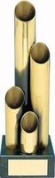 Trofeo diseño tubos