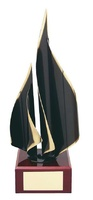 Trofeo diseño vela