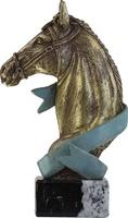 Trofeo dorado de caballo