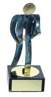 Trofeo ejecutivo artesanal