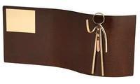 Trofeo ejecutivo rectangular ondulado