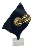 Trofeo en Laton para Petanca modelo Luna