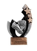 Trofeo en resina Crono y Deportiva de atletismo