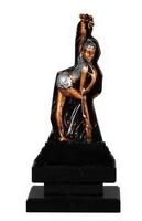 Trofeo en resina de Gimnasia Rítmica en resina.