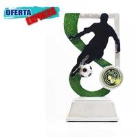 Trofeo en resina para futbol