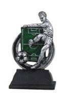 Trofeo en resina para la disciplina de Futbol