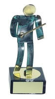 Trofeo esgrima artesanal