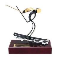 Trofeo esquí artesanal