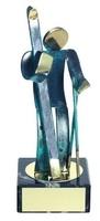 Trofeo esquí latón