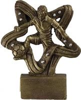 Trofeo estrella de futbol