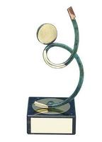 Trofeo fútbol árbitro latón