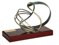 Trofeo fútbol americano casco
