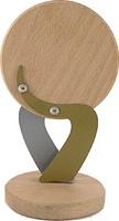 Trofeo formas redondas de Madera para Personalizar