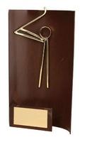Trofeo golf aplique golfista