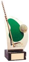 Trofeo golf artesanal