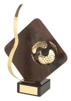 Trofeo golf detalle rombo