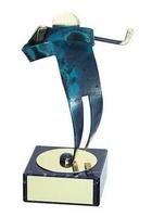 Trofeo golf hecho a mano