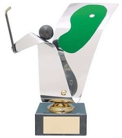 Trofeo golf hoyo