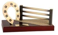 Trofeo hípica valla y herradura