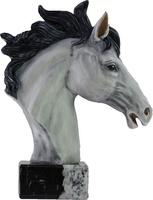 Trofeo hipica busto de caballo