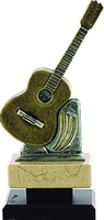 Trofeo instrumento modelo Guitarra