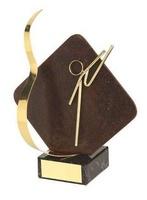 Trofeo karate detalle rombo