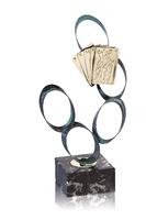 Trofeo lada de cartas