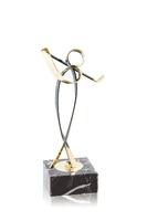 Trofeo latón de golf