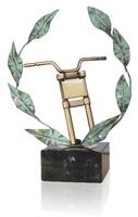 Trofeo latón de motos