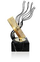 Trofeo latón de peluqueria