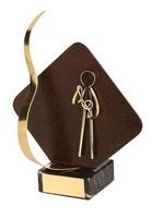 Trofeo música detalle rombo