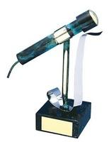 Trofeo música micrófono moderno