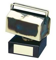 Trofeo mecánico caja herramientas
