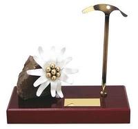 Trofeo montaña flor y pico