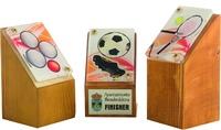 Trofeo multideporte a color Villarroañe