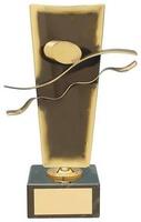 Trofeo natación latón